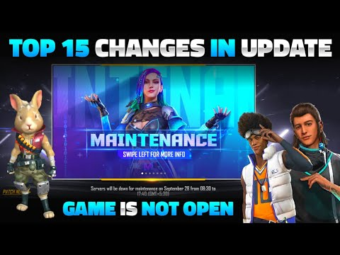FREE FIRE NEW UPDATE   GAME IS NOT OPENING   FREE FIRE OB30 UPDATE FULL DETAILS - GARENA FREE FIRE
