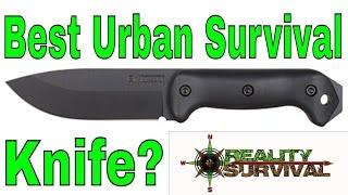 Video Best Urban Survival Knife - Ka-Bar BK2 download MP3, 3GP, MP4, WEBM, AVI, FLV Juli 2018