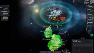 darkorbit ru5 два часа три корпы пытались убить один клан часть2