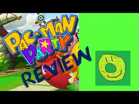 PacMan Party Review (Wii) Green Donuts Reviews