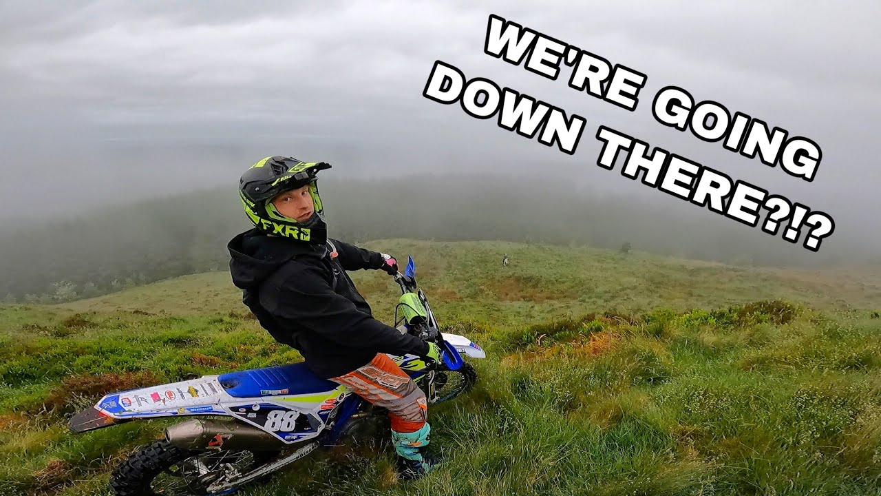 When You Can't See But You Ride Anyway!