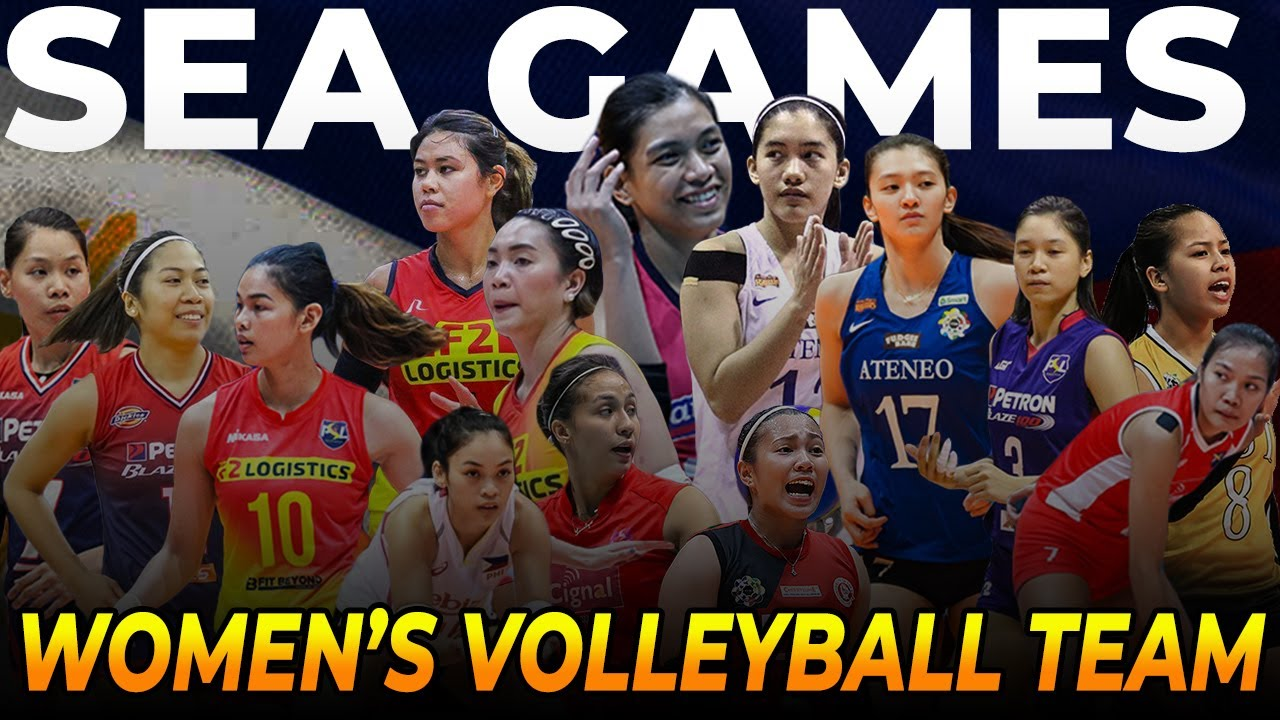 Official Sea Games Lineup Of The Philippines Women S National Volleyball Team 2019 Youtube