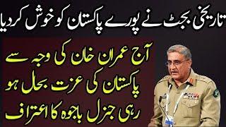 Brilliant Reforms of Imran Khan on Budget Made Qamar Bajwa Happy