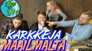 Kirpeitä karkkeja maailmalta! ft. Vinkare&Jesse