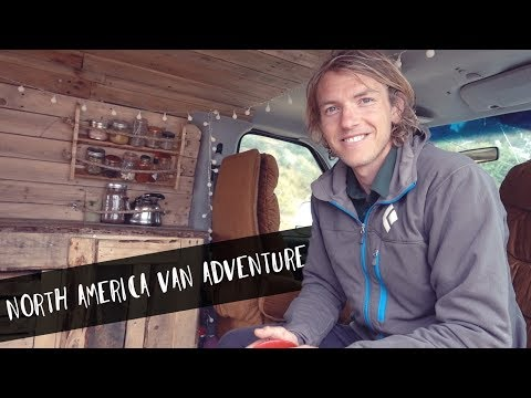 AUSTRALIAN PHOTOGRAPHER BUILDS A VAN FOR 8 MONTH NORTH AMERICA ADVENTURE