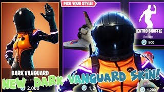 *NEW* DARK VANGUARD SKIN AND ORBITAL SHUTTLES ON FORTNITE! - Fortnite Battle Royale GIGAPLAY