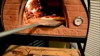 Homemade Recipe Italian Food! Italian Wood Fired Pizza Oven! Calzone By Massimo Currò