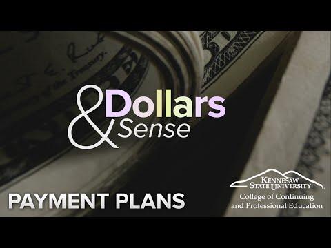 Dollars & Sense Financial Aid: Payment Plans for Continuing Education at KSU