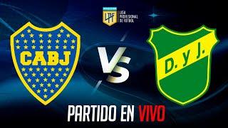 ? Boca Juniors VS Defensa y Justicia - COPA LIGA PROFESIONAL 2021 EN VIVO - FECHA 8