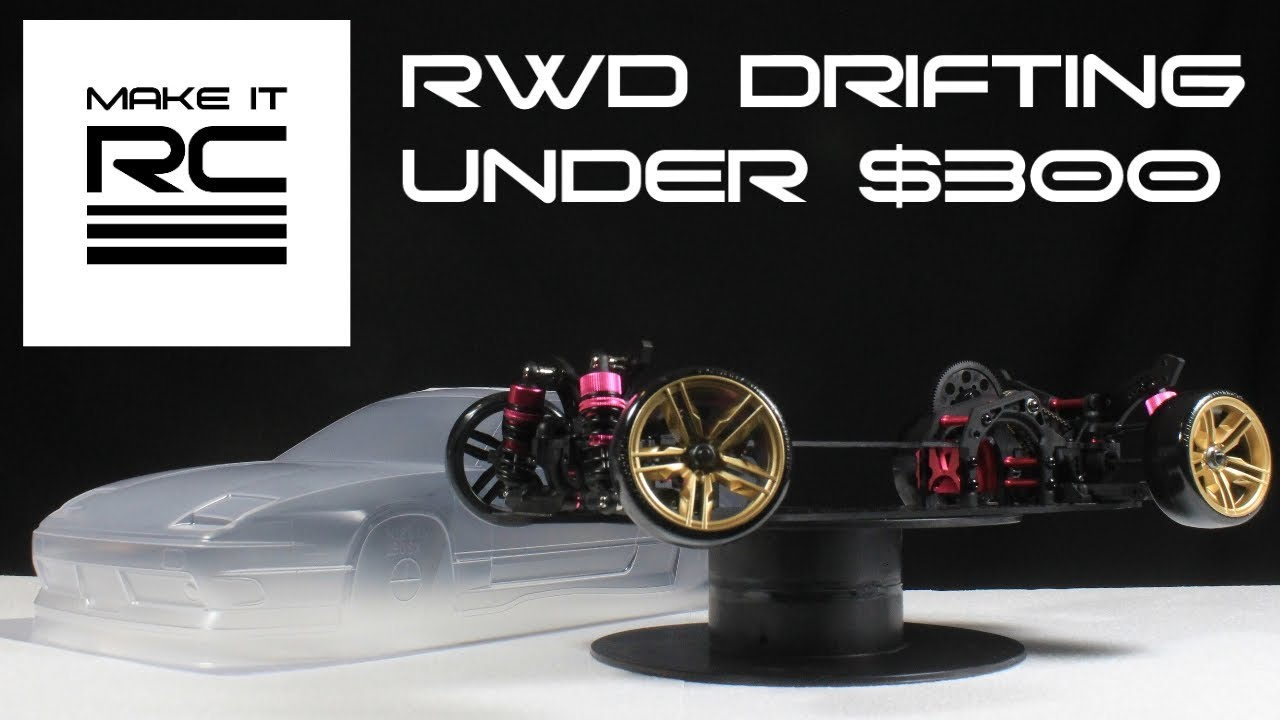 small resolution of budget rc drift build part 1 chassis assembly