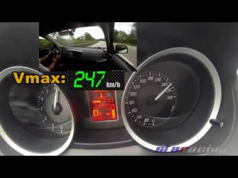 Mitsubishi Lancer EVO X MR 0-100 100-200 100-250