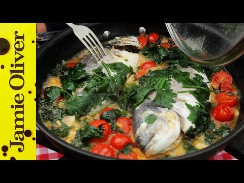Seabream In Crazy Water With Gennaro Contaldo