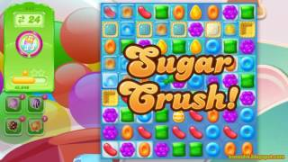 Candy Crush Jelly Saga Level 447 (3 star, No boosters)