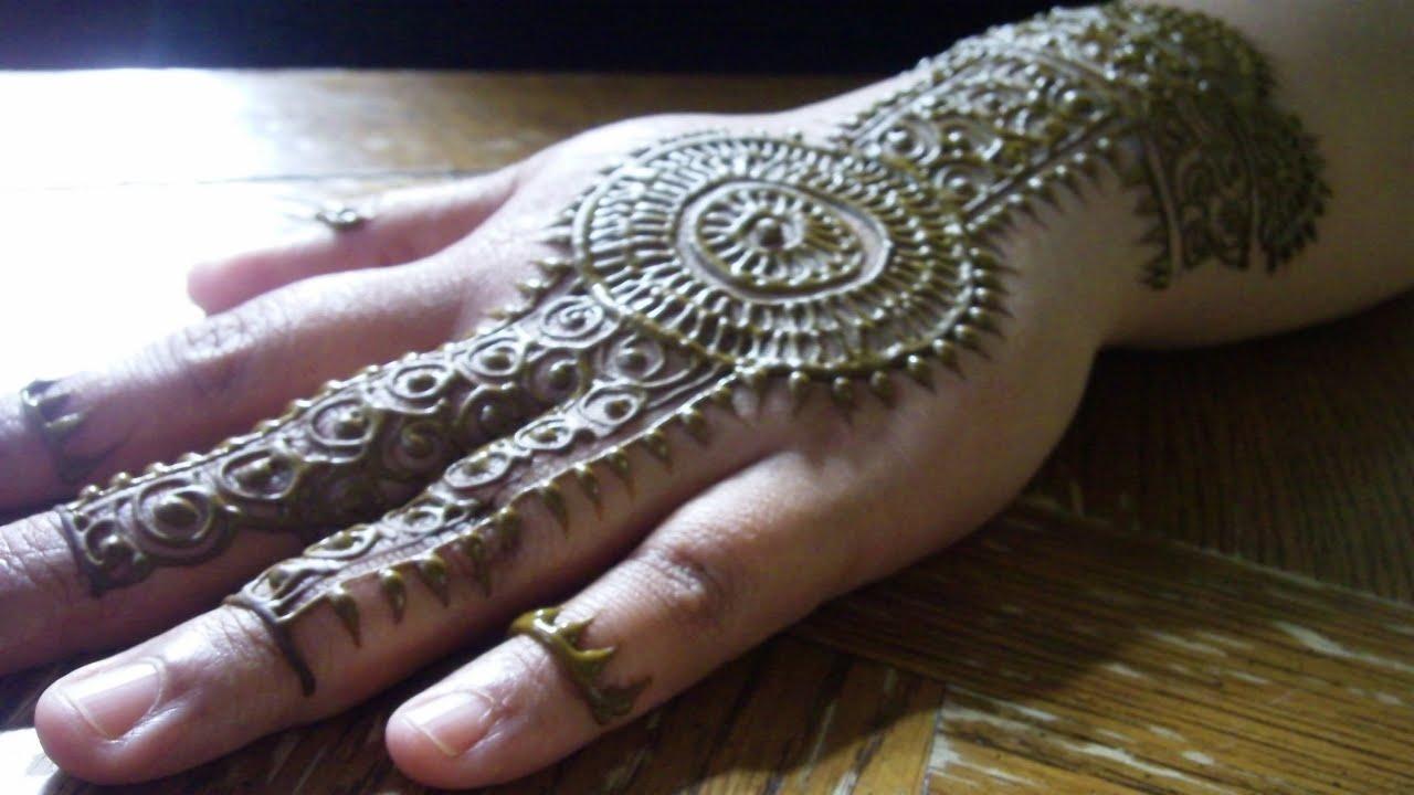 tribal mehndi henna design by freehandmehndi   youtube