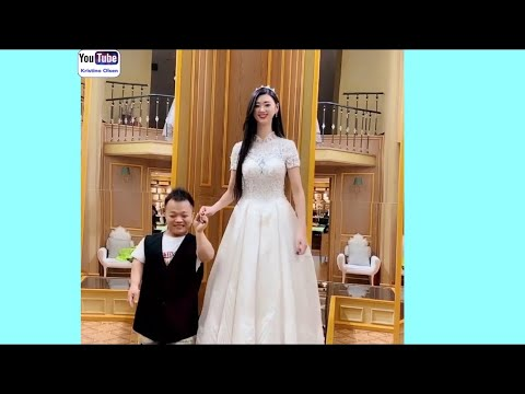 Funny Video With Very Tall Girl