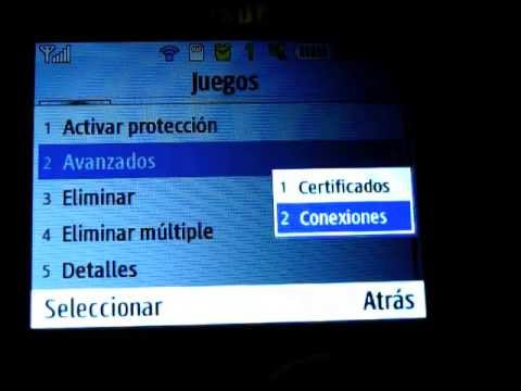 Configuración WiFi Samsung Chat 335 Opera Mini Youtube
