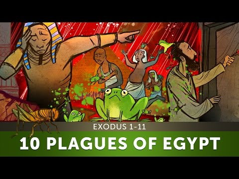 The 10 Plagues of Egypt - Exodus 1-11 | Sunday School Lesson and