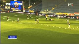 Лига Европы. 3-й отборочный раунд. Отв. матч. Стремсгодсет (Норвегия) - Хайдук (Хорватия) 0:2