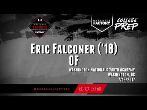 Eric Falconer Outfielder 2018 College Baseball Skills Video