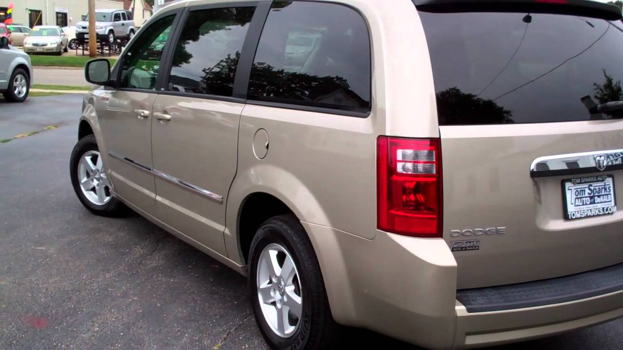 2009 dodge grand caravan sxt 4dr van family truckster dekalb il near sycamore il youtube