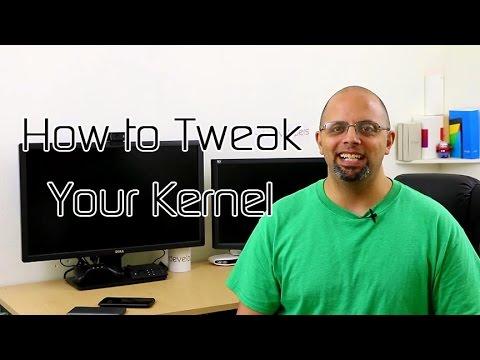 How to Tweak Your Kernel – XDA App Review