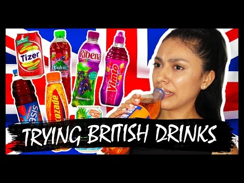 AMERICAN TRIES BRITISH DRINKS!