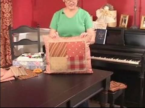 How To Make A Decorative Pillow By Hand : How to Make Decorative Pillows : Completing a Decorative Pillow by Hand Sewing Opening - YouTube