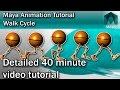 Maya Walk Cycle Tutorial - Complete | Character Animation Tutorial