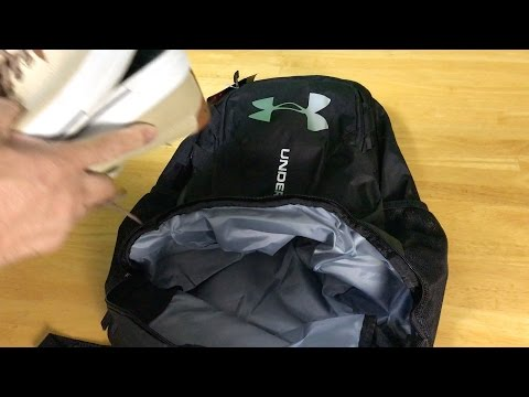 c656a9e9b4 Under Armour UA Hustle 3.0 Backpack - YouTube