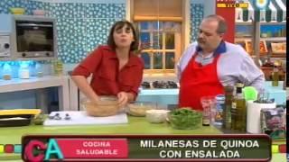 Milanesas de quinoa