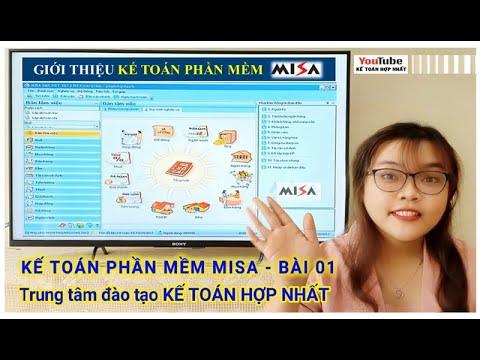 Kế Toán Phần Mềm Misa – Bài 1 : Tự cài đặt hệ thống Kế toán Misa cho Doanh nghiệp mới Nhỏ, Vừa & Lớn