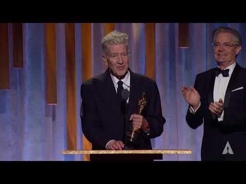David Lynch receives an Honorary Award at the 2019 Governors Awards