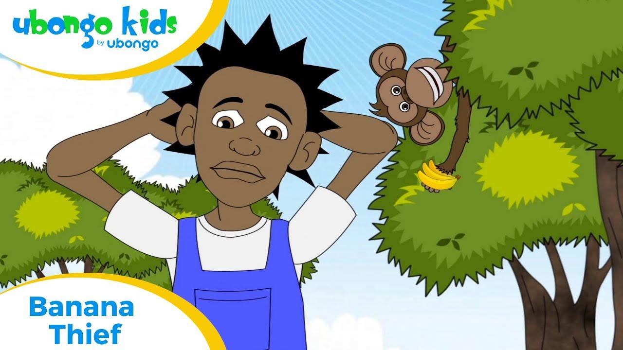 Full Episode #4: Banana Thief | Ubongo Kids | Educational Cartoons from Africa