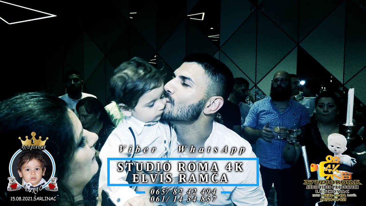 1-RODJENDAN (MARIO)PART3 15.08.2021.ŠARLINAC VIDEO PRODUCTION (STUDIO ROMA ELVIS 4K)LESKOVAC