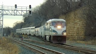 Cascades F59PHI leading Empire Builder in Minnesota