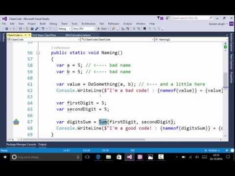 Clean Code Part I (Arabic)   أساسيات الكود النظيف