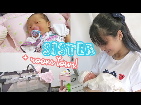 MEET MY BABY SISTER! + Room Tour 🍼   Lexy Rodriguez