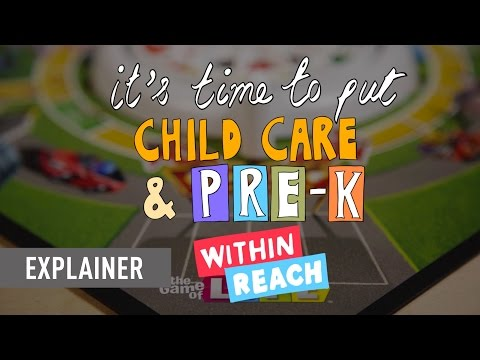 It's Time to Put High-Quality Child Care and Pre-K Within Reach