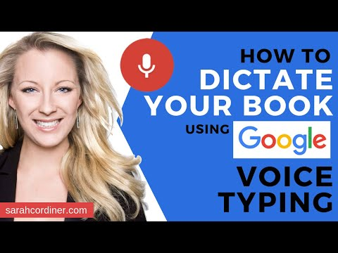 How To Dictate Your Book With Voice Typing Tool In Google Docs