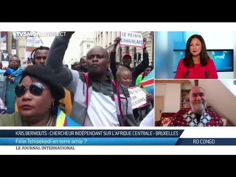 """Felix Tshisekedi à Bruxelles : """"La Belgique est mon autre Congo"""""""
