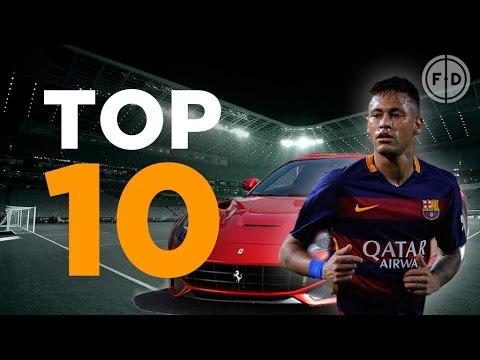 Top 10 Footballers' Cars 2015
