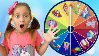 Sofia and Funny story about Magic wheel