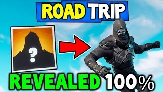 *NEW* FORTNITE ROAD TRIP SKIN REVEALED V5.3 - 100% CONFIRMED! (Fortnite Road Trip Leaked)