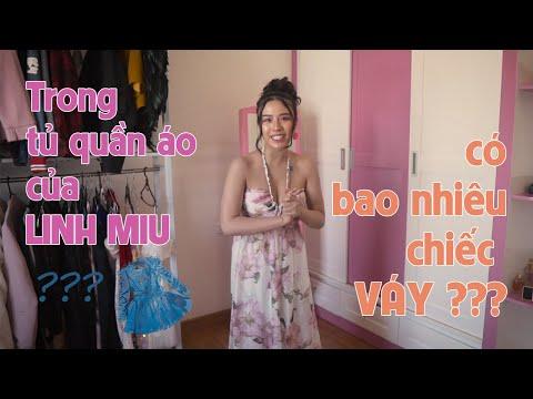 Linh Miu có bao nhiêu chiếc váy trong tủ ? Linh Miu Offical