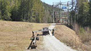 Pipe Mountain Coaster Build Timelapse
