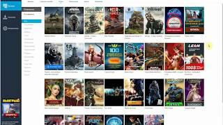 MediaGet - программа для скачивания фильмов и одновременного их просмотра.