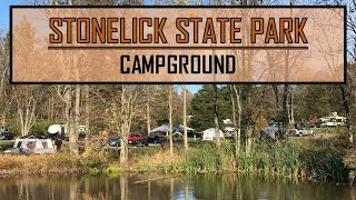 Stonelick State Park Ohio| Campġround Review| Fall Camping