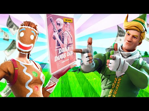 *NOW* LIVE DUOS CASH CUP -  FORTNITE BATTLE ROYALE - STAY HOME #WITHME