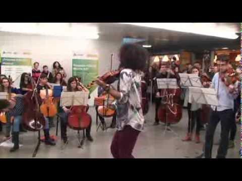 ¡Próxima Estación: Música!: Concierto Malikian en Atocha con Conservatorio