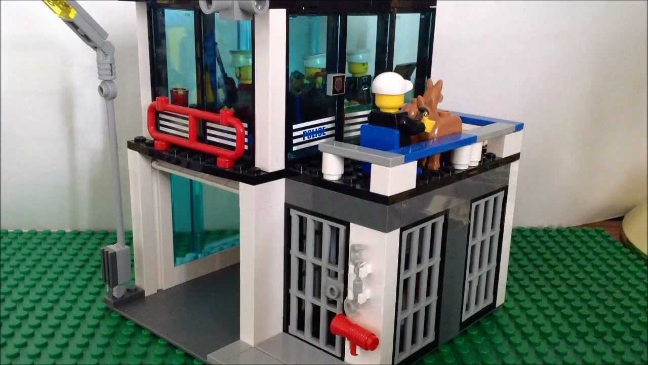 How To Build A Custom Lego Prison